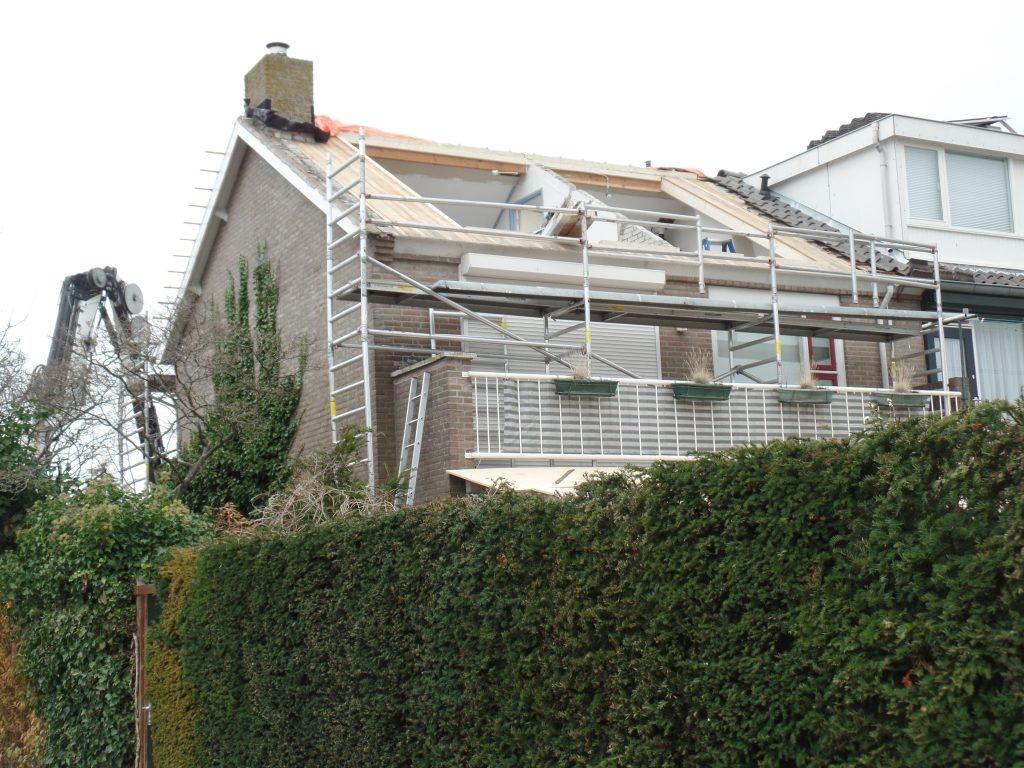 Ruimte maken voor dakkapel