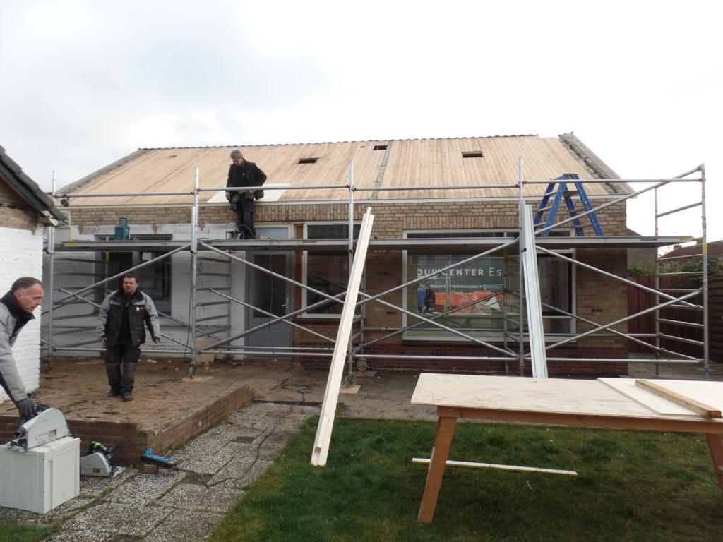 renovatie woning met aanbouw oude tonge